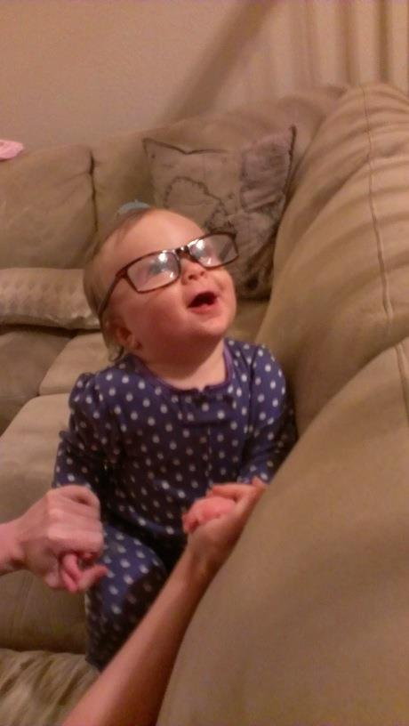 Babies, Glasses, and Other Head Accessories