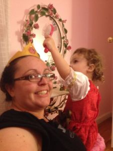 Bronte retreats to familiar ground: giving her aunt a princess makeover.