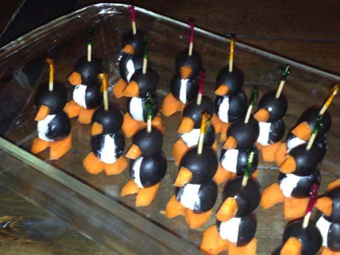 Halloween Penguins in Baby Class