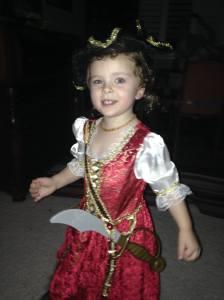 Pirate queen.