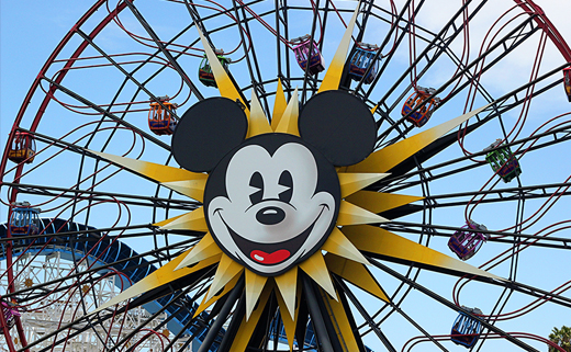 My Family Braves Mickey's Giant Wheel of Death