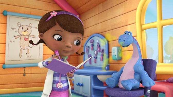 Doctor McStuffins Breaks Up the Princess Monopoly