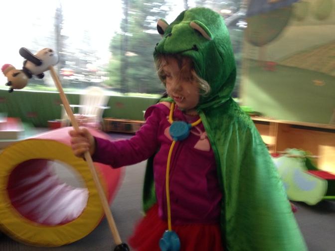 My Daughter Declares Herself Queen