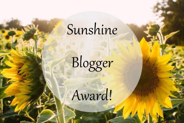 Nominated (Twice) For the Sunshine Blogger Award