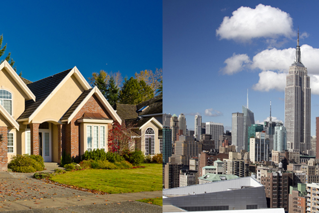Are You A City Person or a Suburb Person?