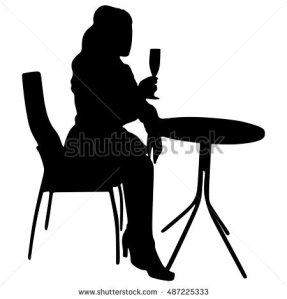 stock-vector-silhouette-of-a-girl-holding-a-wineglass-487225333